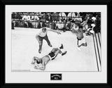 Muhammad Ali- Knock Out Objeto de coleccionista enmarcado