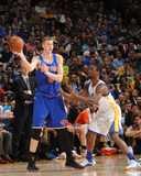 New York Knicks v Golden State Warriors Photo by Noah Graham