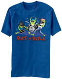 Rat Fink- Rat And Roll T-shirts