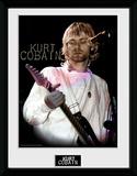 Kurt Cobain- Guitar Solo Objet de collection encadré