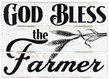 Farmer Blessing Sign Wood Sign