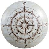 Nautical Compass Dome Sign Blechschild