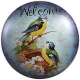 Every Birdie Welcome Dome Sign Tin Sign