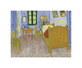 Bedroom at Arles, 1889-90 Giclee Print by Vincent van Gogh