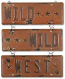 Wild Wild West Sign Tin Sign