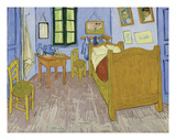 Bedroom at Arles, 1889-90 Art by Vincent van Gogh