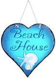 Beach House Slate Wall Sign