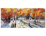 Autumn Meets Winter Prints by Robert Moore