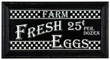 Fresh Eggs Sign Wood Sign