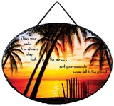 Beach Toast Slate Wall Sign