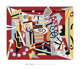 Hot Still-Scape for Six Colors - 7th Avenue Style, 1940 Pôsters por Stuart Davis