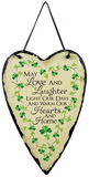 Irish Wishes Slate Wall Sign