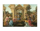 The Adoration of the Magi, ca. 1478-1482 Kunst af Sandro Botticelli