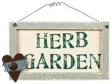 Herb Garden Sign Wood Sign