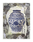 Blue Ginger Jar Prints by Annabel Hewitt