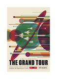 The Grand Tour Giclée-tryk af Vintage Reproduction
