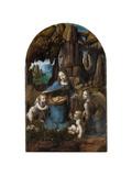 Virgin of the Rocks, 1503-1506 Lámina giclée por Leonardo Da Vinci
