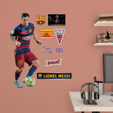 Soccer FC Barcelona Lionel Messi 2015 Fathead Jr. Wall Decal