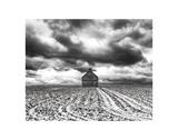 Mid Winter Storm Lámina por Trent Foltz