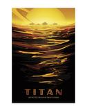 Vintage Reproduction - Titan - Art Print
