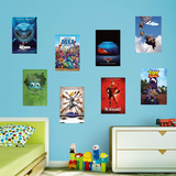 Disney Pixar Movie Posters RealBig Collection Wall Decal
