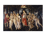 La Primavera, 1481-1482 Kunstdruck von Sandro Botticelli