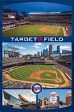Minnesota Twins- Target Field Collage Posters
