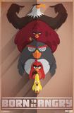 Angry Birds- Born Angry Print
