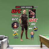 UFC Chris Weidman 2015 RealBig Wall Decal