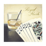 Royal Flush Casino Prints by Paulo Romero