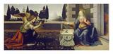The Annunciation, ca. 1472 Reprodukcje autor Leonardo Da Vinci