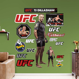 UFC T.J. Dillashaw 2015 RealBig Wall Decal
