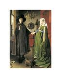 The Arnolfini Portrait Posters by Jan Van Eyck