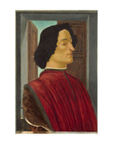 Giuliano de Medici, c. 1478-1480 Posters af Sandro Botticelli