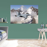 Boeing Navy F-18 Hornet Mural Wall Decal
