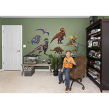 Jurassic World Hybrid Dinosaurs RealBig Collection Wall Decal