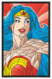 Wonder Woman- Objet D'Art Princess Blacklight Poster Photo