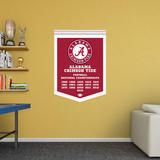 NCAA Alabama Crimson Tide 2015 Football Champions Banner RealBig Wallstickers
