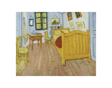 The Bedroom, 1888 Prints by Vincent van Gogh