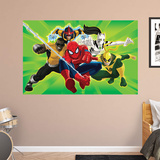 Marvel Ultimate Spider-Man Team Heroes Team RealBig Mural Wall Mural