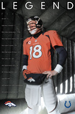 Denver Broncos- Peyton Manning Legend Prints