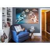 NFL Super Bowl 50 Cam Newton-Von Miller Collision Course RealBig Mural Wall Mural