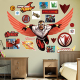 Marvel Avengers Assemble Falcon RealBig Wall Decal