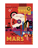 Mars Posters af Vintage Reproduction