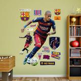 Soccer FC Barcelona Neymar 2015 RealBig Wall Decal