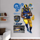 NFL Todd Gurley 2015 Throwback RealBig Wall Decal