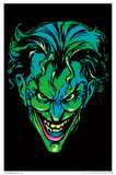 Batman- Neon Joker Blacklight Poster Prints