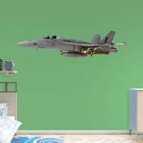 Boeing Navy F-18 Hornet RealBig Kalkomania ścienna
