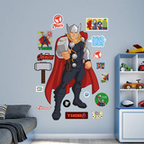 Marvel Avengers Assemble Kids Thor RealBig Wall Decal