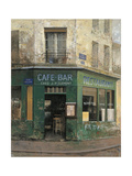 Cafe Bar Premium Giclee Print by Chiu Tak-Hak